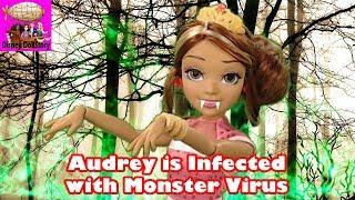 Download Vampire Audrey is Infected with Virus - Part 20 - Vampires Moana Descendants Disney Video