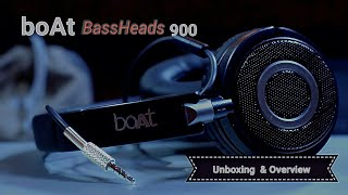 Download BoAt BASS HEADS 900 Unboxing & Overview Video