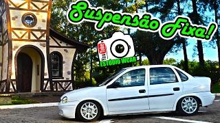 Download Meu Novo Carro!!! Corsa Classic ″ O Branquinho ″ + Suspensão Fixa - EWcar Video