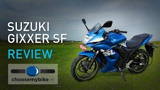 Download Suzuki Gixxer SF : ChooseMyBike.in Review Video