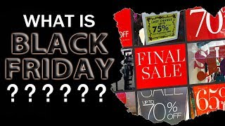Download WHAT IS BLACK FRIDAY? Why do we call it Black Friday? Learning English with Mr Duncan Video