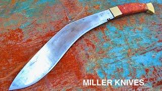 Download Knife Making - Forging a Kukri Video