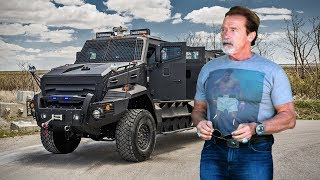 Download Arnold Schwarzenegger's Car Collections ★ 2018 Video