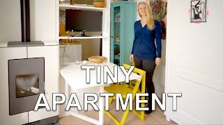 Download Tiny Studio Apartment | With Wall Bed and Green Garden (250 sq.ft.) Video