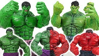 Download Thanos stole Infinity Stone! Marvel Hulk brother and red reproduction hulk army! Go! - DuDuPopTOY Video