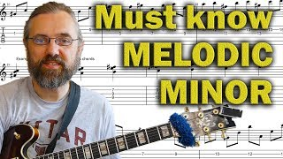 Download Things you NEED to know in Melodic minor Video