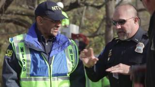 Download NTSB Chattanooga, TN Crash investigation Scene B-Roll Video