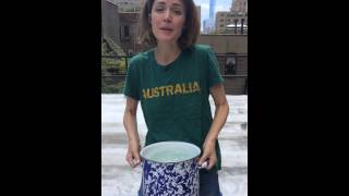 Download ROSE BYRNE ALS ICEBUCKET CHALLENGE Video