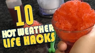 Download 10 Hot Weather Life Hacks To Keep YOU Cool Video