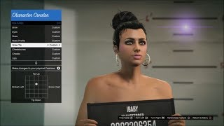 Download How To Make A Hot Girl Character   Female Character Creation GTA Online Video