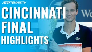 Download Daniil Medvedev Beats Goffin, Wins First Masters 1000 Title! | Cincinnati 2019 Final Highlights Video