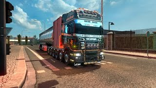 Download [ETS 2 v1.27] SCANIA R ZEEUWSE TRUCKER + TUNING + SOUND WEEDA Video
