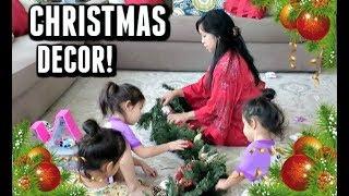 Download DECORATING OUR CHRISTMAS LIVING ROOM! - November 12, 2017 - ItsJudysLife Vlogs Video