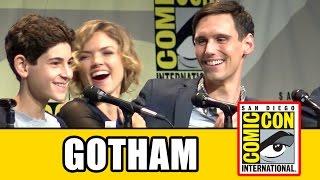 Download Gotham Comic Con 2015 Panel - Season 2, Ben McKenzie, Camren Bicondova, Erin Richards, Sean Pertwee Video