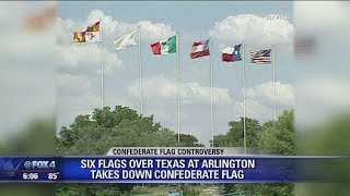 Download Six Flags removes Confederate flags Video