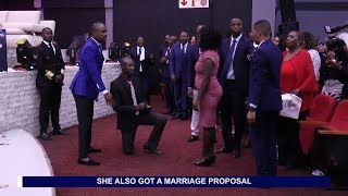 Download Former prostitute gets engaged in church - Testimony with Alph LUKAU Video