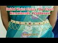 Download Waist Accessories : Bridal Waist Chain / Kamarbandh / Vaddanam / Hip Chain making at Home | Tutorial Video