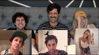 Download REACTING TO OUR CRINGIEST PHOTOS ft DAVID DOBRIK AND CORINNA KOPF! Video