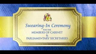 Download Swearing in Ceremony: Members of Cabinet & Parliamentary Secretaries Video