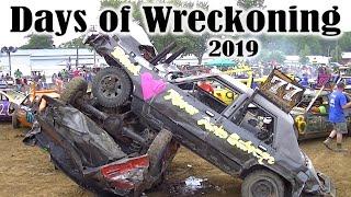 Download FLASHBACK - Days of Wreckoning Demolition Derby 2019 (All Heats) Video