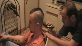 Download Steve's Mohawk Video