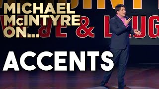 Download Compilation Of Michael's Best Jokes About Accents | Michael McIntyre Video