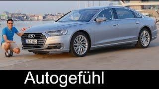 Download Audi A8 documentary - FULL REVIEW A8L 55 TFSI 3.0 all-new 2018 neu - Autogefühl Video