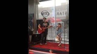 Download Olivia Kay Sings Titanium Video