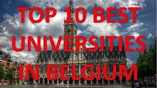 Download Top 10 Best Universities In Belgium/Top 10 Universidades De Bélgica Video