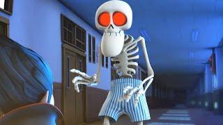 Download Spookiz | Squelette enseignant porte seulement son caleçon | Cartoon pour les enfants | WildBrain Video