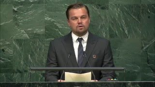 Download Leonardo DiCaprio, High-level Signature Ceremony for the Paris Agreement Video