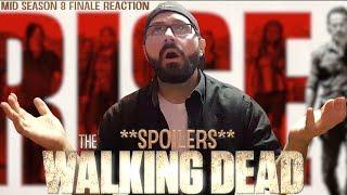 Download The Walking Dead: Mid Season 8 Finale ″How It's Gotta Be″ Reaction *SPOILERS* | BLURAY DAN Video