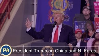 Download President Donald Trump on China and North Korea Video