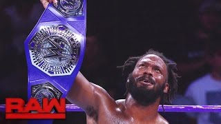 Download A look back at Rich Swann's WWE Cruiserweight Title victory: Raw, Dec. 5, 2016 Video