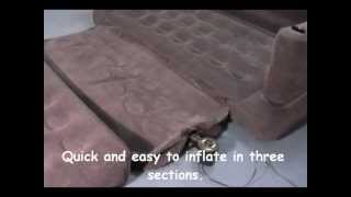 Download Intex Inflatable Pull Out Sofa & Queen Sized Airbed In One - Outdoorleisuredirect.co.uk Video