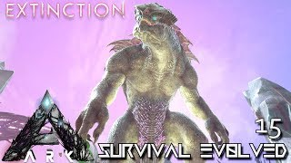 Sneaking″ into an enemies hard Manticore boss fight! (ARK/PVP/PS4