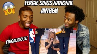 Download Fergie Performs The U.S. National Anthem / 2018 NBA All-Star Game (REACTION) Video
