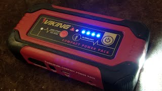 Download Harbor Freight Viking Li-Ion Jump Starter Power Pack Review & Evaluation Video