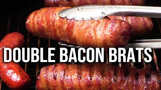 Download Double Bacon Brats recipe Video