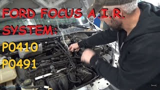 Download Ford Focus - SES Light / AIR Problems P0491 P0410 Video