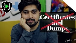 Download Certifications and Dumps - A serious issue Video