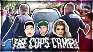 Download COPS CALLED BECAUSE OF FANS... (ARRESTED?) Video