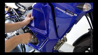 Download Fitting instructions Ermax low fairings - Yamaha MT-09 Tracer / FJ-09 2015/2017 Video