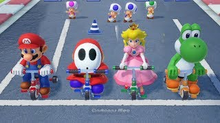 Download Super Mario Party - Free For All Minigames - Mario vs Shy Guy vs Peach vs Yoshi| Cartoons Mee Video
