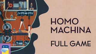 Download Homo Machina: Full Game Walkthrough Guide - Chapters 1 2 3 & iOS iPad Gameplay (by ARTE Experience) Video
