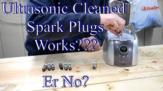Download Spark Plugs vs Ultra Sonic Cleaner Video