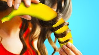 Download 25 WEIRD HAIR HACKS YOU TOTALLY HAVE TO TRY Video