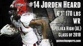 Download #14 Jorden Heard / WR / Opelika High (AL) Class of 2018 Video