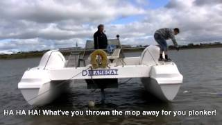 Download Catfish 680 First Engine Start Video