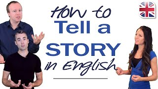 Download How to Tell a Story in English - Using Past Tense Video